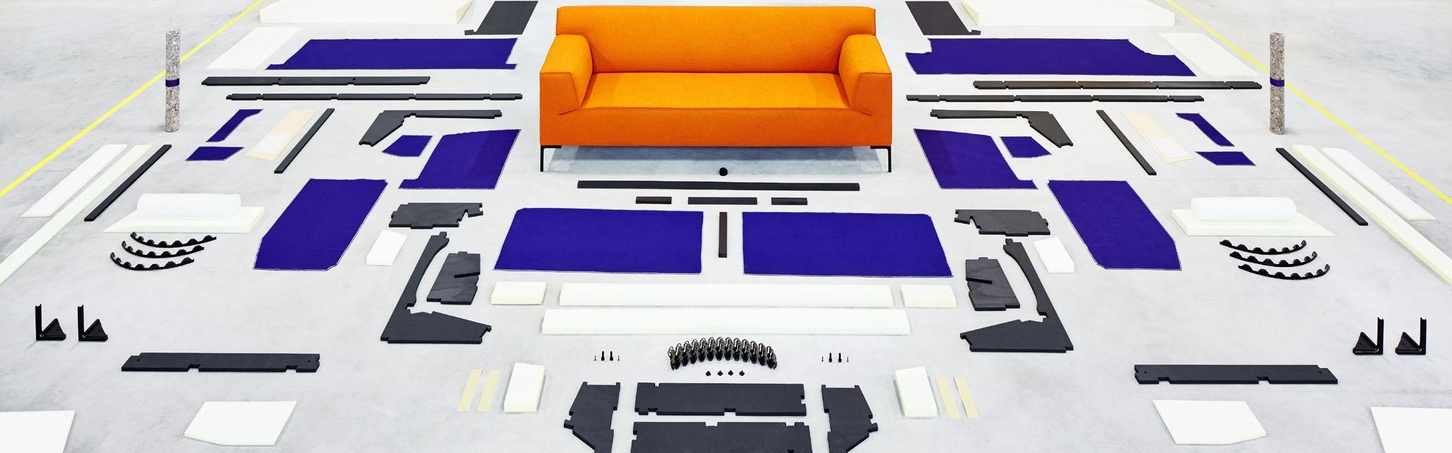Dutch modern furniture materials