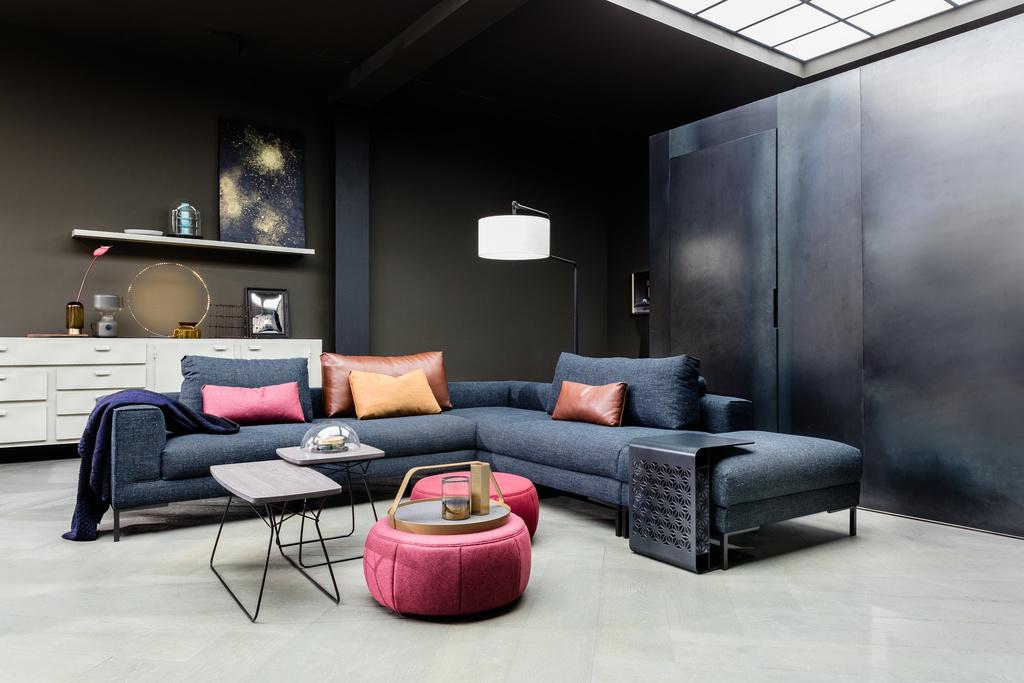 Dutch Modern Lounge Sofa: Aikon Lounge | Design Your Own Sofa