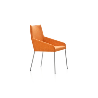 Penta by Gijs Papavoine | With polished aluminum legs.