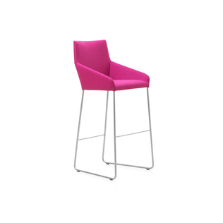 Barran 80 by Gijs Papvoine | Shown in Divina Melange 621 with polished aluminum legs.